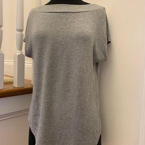 Lou & Grey sz Small Sweatshirt fabric color Grey